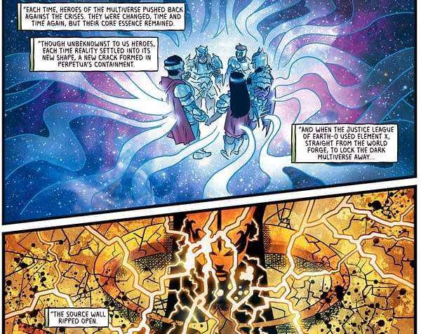 Perpetua Rewrites DC Comics History With Whispers in Multiverses End