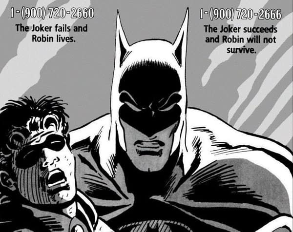 The last time DC Comics left the fate of a Bat-family character up to readers, it didn't go well.