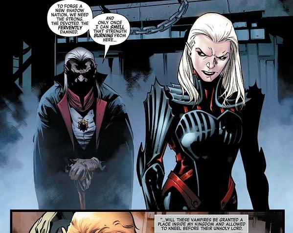 The Role Of Vampires In King In Black #5 (Spoilers)