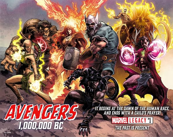 Tom Brevoort Teases 1,000,000 BC Avengers In 'Generations: The Thunder' With The Thors
