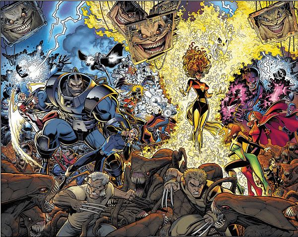X-Men Blue And Gold Enjoy Time And Relative Dimensions In Space For Marvel Legacy