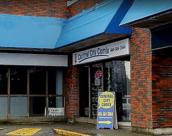 Central City Comix of Surrey, British Columbia,Canada to Close This Weekend