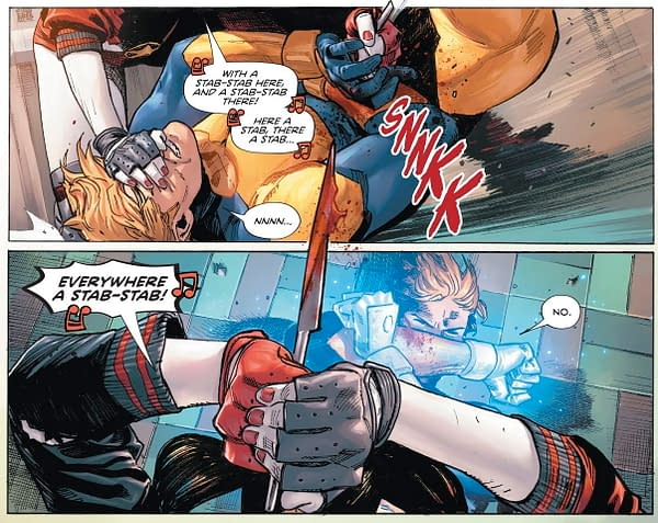 Harley Quinn Loves Booster Gold… To Death?