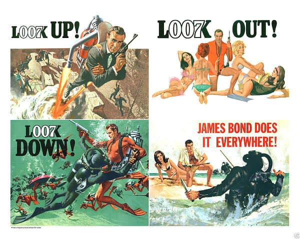 007 Bond Binge: Thunderball: Sharks, Femme Fatales, and Lawsuits?