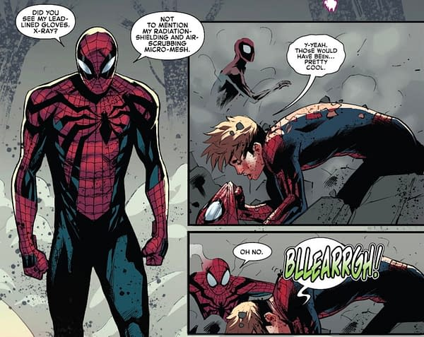 Spider-Man In A Coma, I Know, I Know, It's Serious