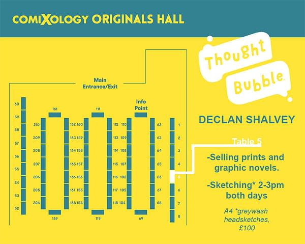 Declan Shalvey and Gavin Fullerton to Debut Bog Bodies Ashcan at Thought Bubble and Valkyrie Con This Weekend