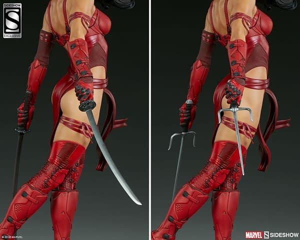 Sideshow Collectible Premium Format Figure Elektra 19