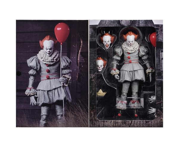 NECA Pennywise Figure Boxed 3