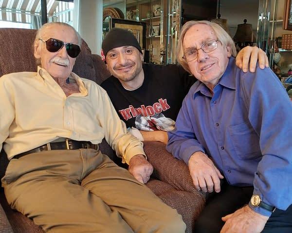 When Roy Thomas Went to Meet Stan Lee