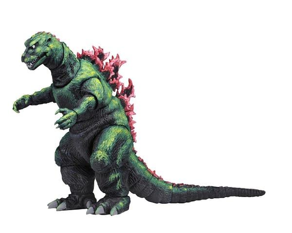 Godzilla Gets a Unique Figure From NECA- a 1956 Poster Version