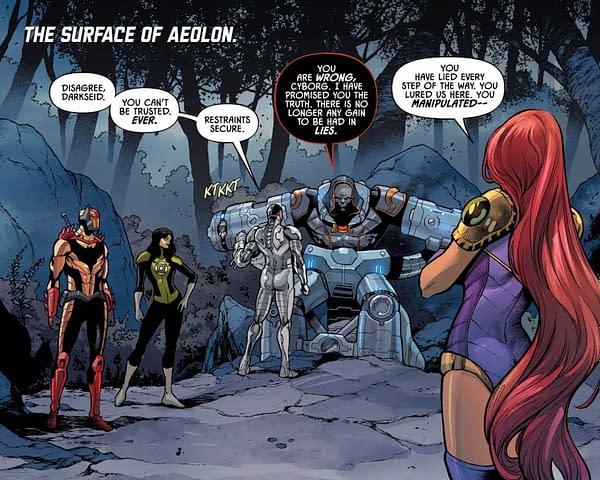 Darkseid's Identity Politics in Justice League Odyssey #8