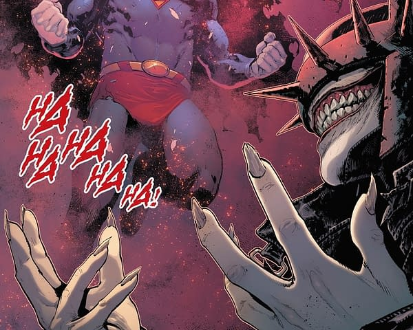 The Batman Who Laughs from Batman/Superman