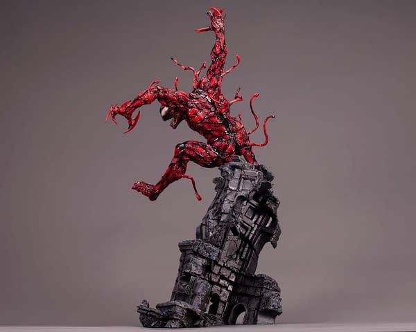 Carnage Brings the Madness with New Kotobukiya Statue
