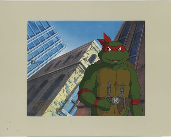 A TMNT Animated Series Cell Is Up For Auction Now At Comic Connect