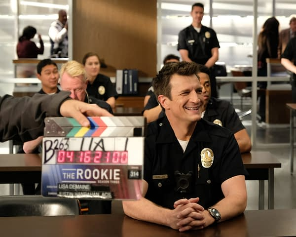 The Rookie Season 3 Finale BTS Look; Preview: Lopez Gets The Bad News