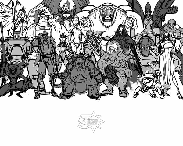 Blizzard Celebrates 5 Years of Overwatch With From the Vault Art Print