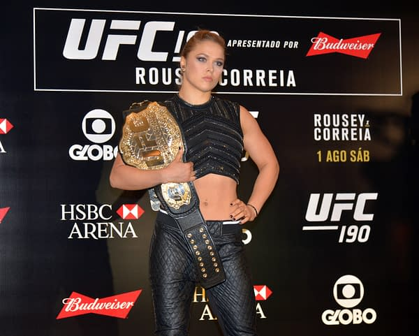 Ronda Rousey, In Roddy Piper's Jacket, Points To Future With WWE