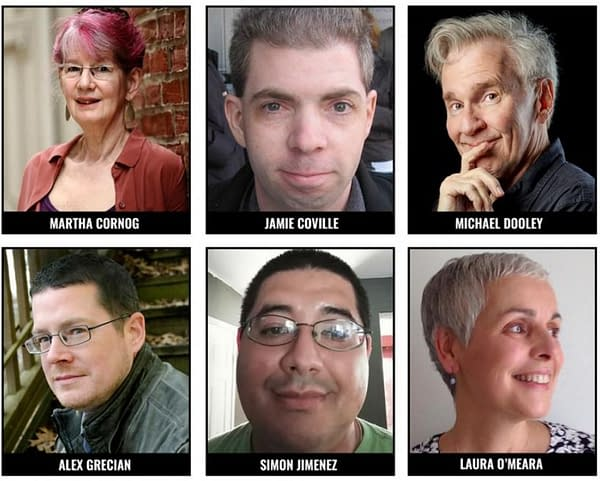 Eisner Awards 2020 Judges Announced – Jamie Colville, Martha Cornog, Michael Dooley, Alex Grecian, Simon Jimenez, Laura O'Meara.