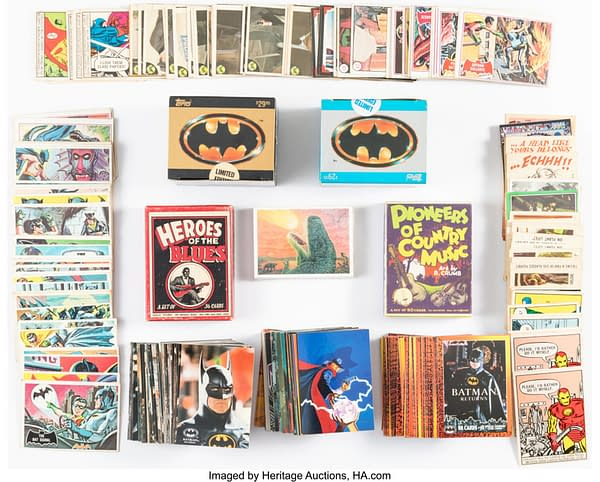 Comics Trading Cards. Credit: Heritage Auctions