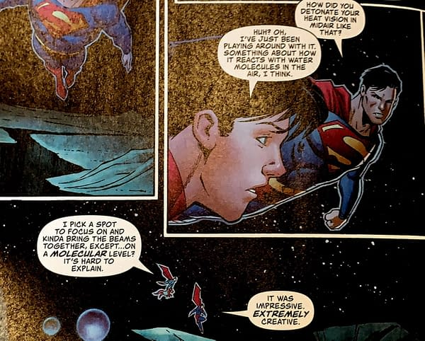 Jonathan Kent Gets A New Superpower Now He's Superman?