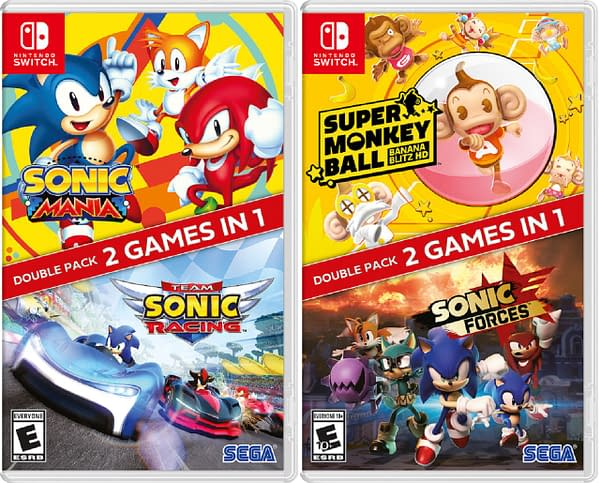 A look at both of the packs coming to Nintendo Switch, courtesy of SEGA.