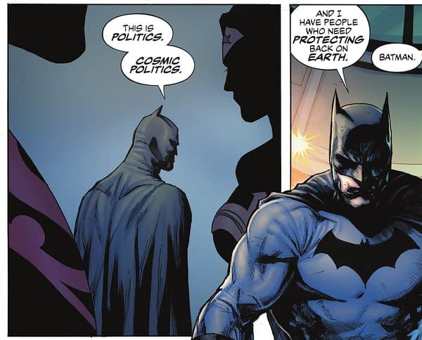 Batman Wants To Get Politics Out Of Superhero Comics