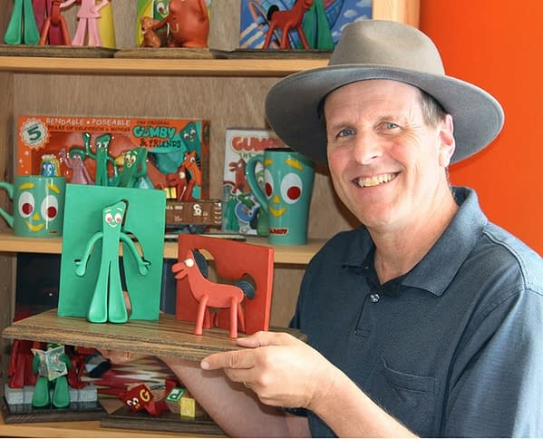 Gumby Takes Over Reddit, Joe Clokey Does AMA About His Father's Creations