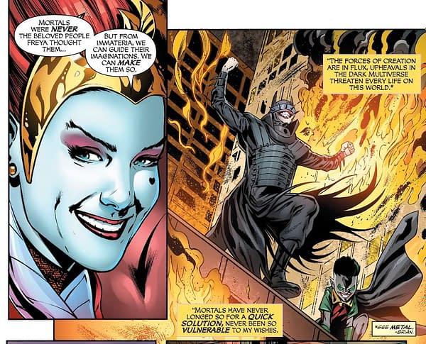 Promethea Joins the Justice League of America