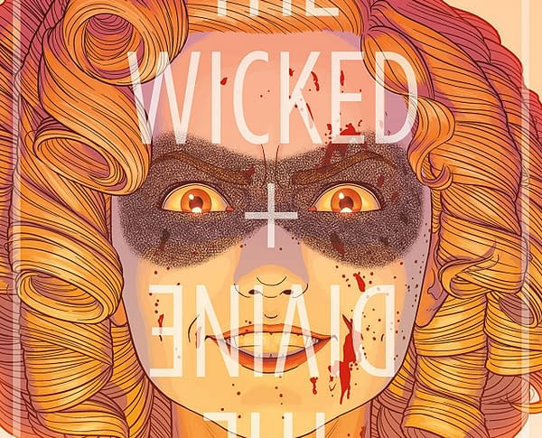 Wicked + Divine #35 cover by Jamie McKelvie and Matthew Wilson