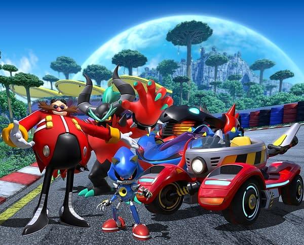Team Sonic Racing Reveals Team Eggman's Racing Companions