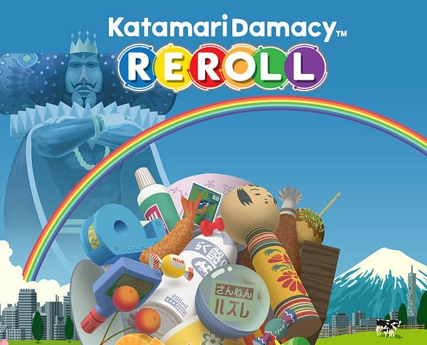 Can you roll the world into Katamari ball? Only one way to find out! Courtesy of Bandai Namco.