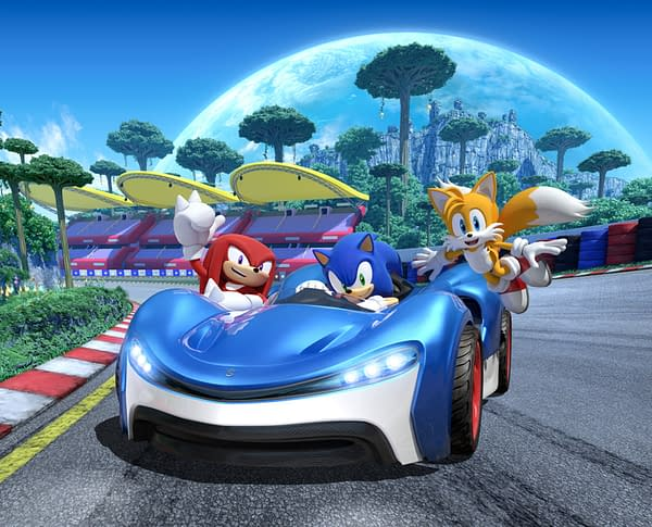 Now you can race around the track with these guys on Amazon Luna, courtesy of SEGA.