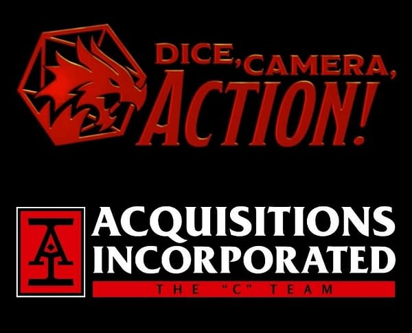 Acquisitions Inc. and Dice, Camera, Action Announce Crossover Event