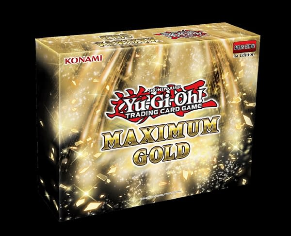This new gold set for Yu-Gi-Oh will be released in October.