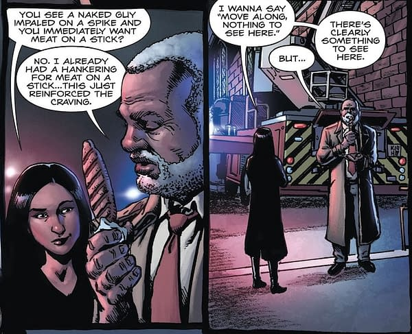 How Come The Police Have Guns In Hellblazer: Rise And Fall?