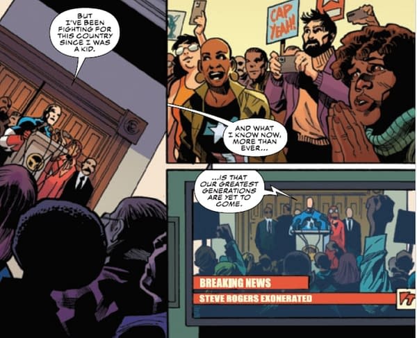 Pro-Red Skull March? Captain America Wants To Listen To All Americans