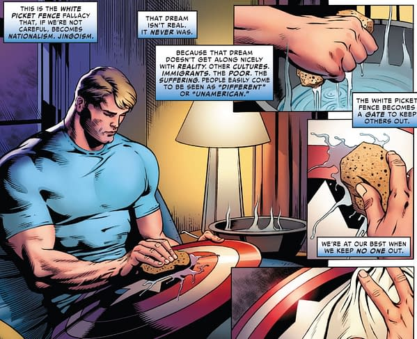 Captain America And The American Dream - In Doubt?