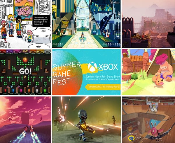 Explore over 70 games though the ID@Xbox Summer Game Fest Demo, courtesy of Xbox.