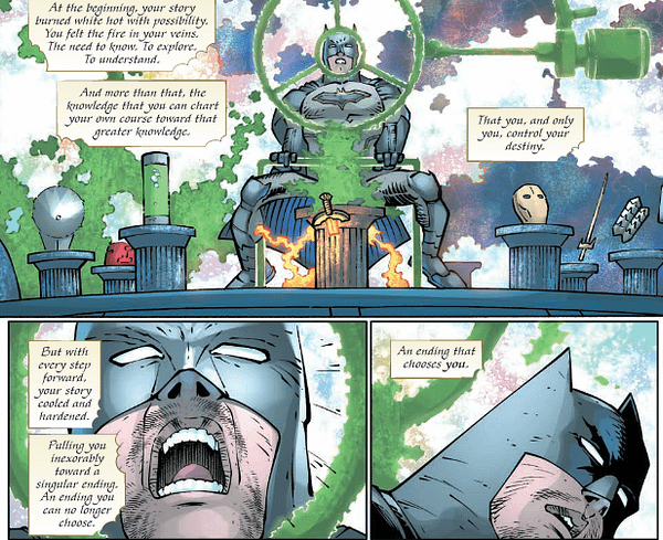 Dark Days: The Casting #1 Review – Seeing The Shape Of Metal