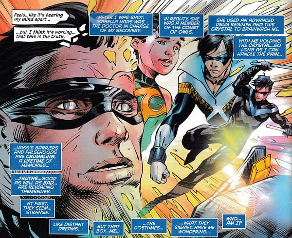 Dick Grayson Is Back, Batgirl in Continuity - Nightwing #74 Spoilers