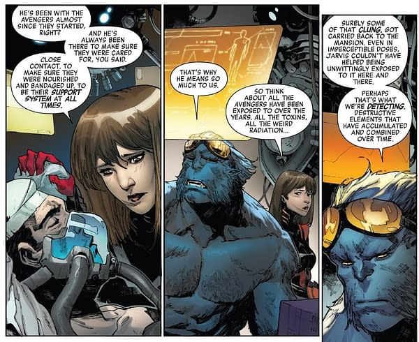 A Very Surprising Theory of the Identity of Voyager in Avengers: No Surrender… Spoilers If True