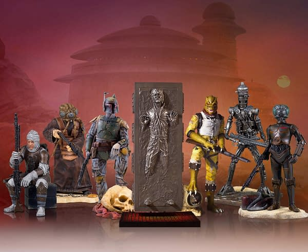 Star Wars Gentle Giant Bounty Hunter Collectors Gallery Statue Full Line