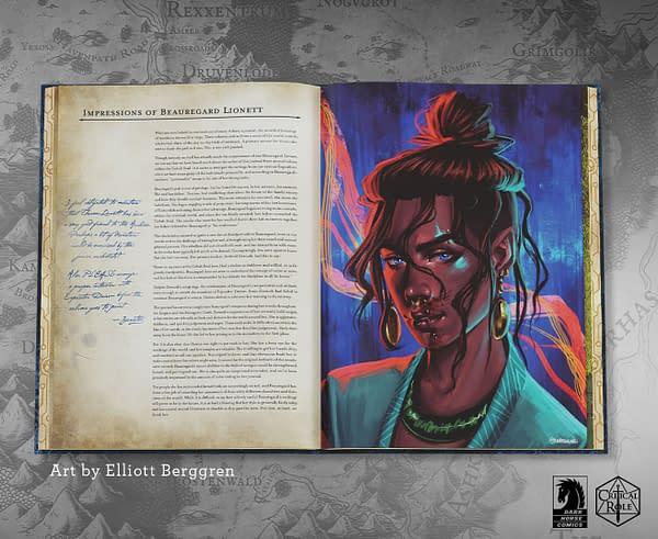Impressions of Beauregard Lionett, courtesy of Critical Role.