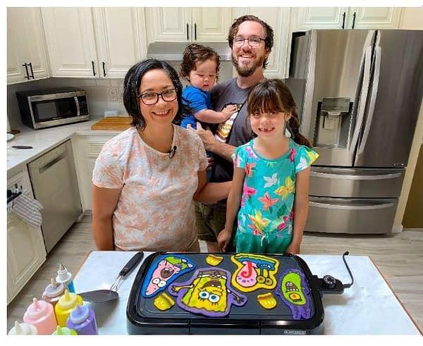 SpongeBob Pancake Party at SDCC