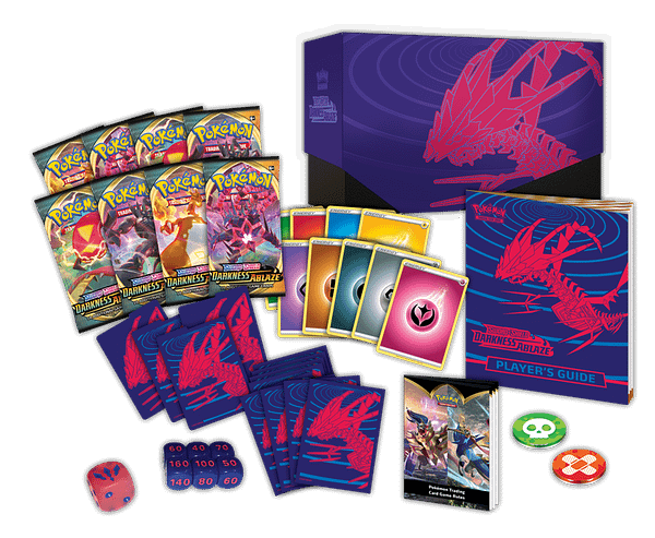 A look at Sword & Shield—Darkness Ablaze, courtesy of The Pokémon Company.