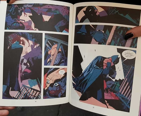 Our First Look Inside the Pages of Batman/Dylan Dog #0 at LUCCA Comics And Games