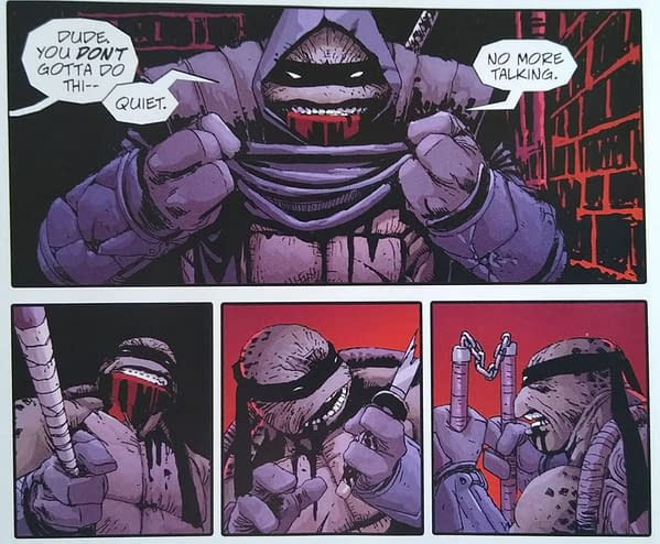 TMNT: The Last Ronin #1 The Remaining Turtle Revealed