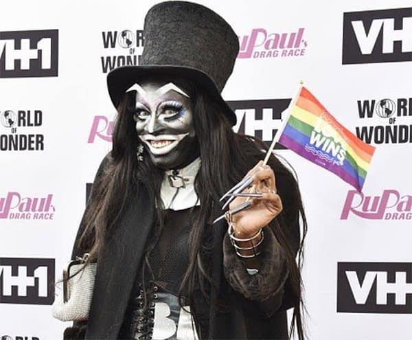 Miles Jai in full Babadook realness