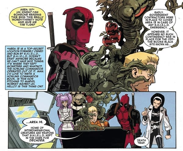 X-Men: Bland Design – Some Characters Have Names in Spider-Man vs. Deadpool #27