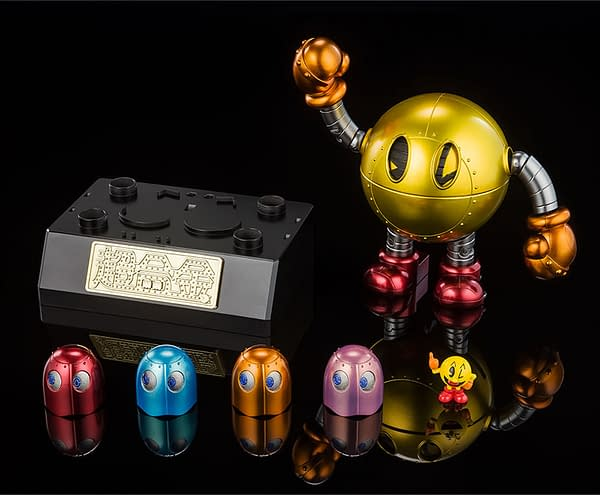 Pac-Man Gets His Own Chogokin Mech with Tamashii Nations